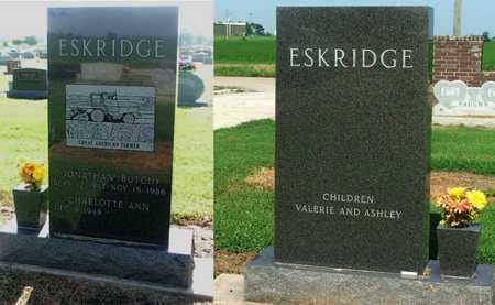 "ESKRIDGE, JONATHAN ""BUTCH"" - Lawrence County, Arkansas | JONATHAN ""BUTCH"" ESKRIDGE - Arkansas Gravestone Photos"