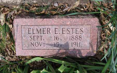 ESTES, ELMER E. - Lawrence County, Arkansas | ELMER E. ESTES - Arkansas Gravestone Photos