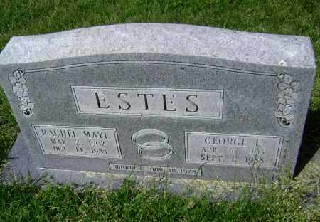 ESTES, GEORGE EDGAR - Lawrence County, Arkansas | GEORGE EDGAR ESTES - Arkansas Gravestone Photos