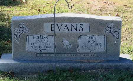 EVANS, COLMAN KENARD - Lawrence County, Arkansas | COLMAN KENARD EVANS - Arkansas Gravestone Photos
