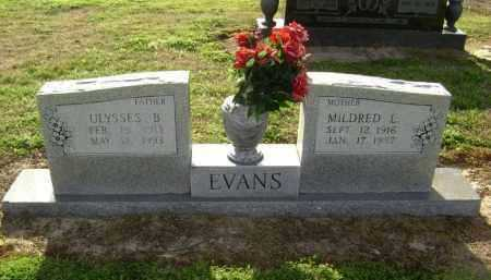 "EVANS, ULYSSES BURL ""POPPY"" - Lawrence County, Arkansas 