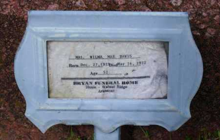 EVANS, WILMA MAE - Lawrence County, Arkansas | WILMA MAE EVANS - Arkansas Gravestone Photos