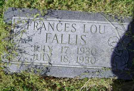 FALLIS, FRANCES LOU - Lawrence County, Arkansas | FRANCES LOU FALLIS - Arkansas Gravestone Photos