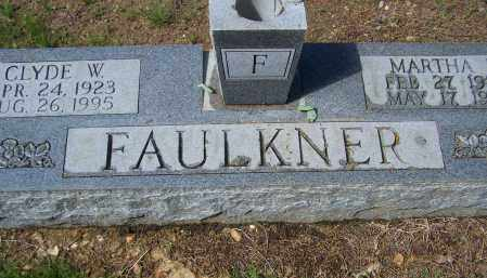 SANDERS FAULKNER, MARTHA ELLEN - Lawrence County, Arkansas | MARTHA ELLEN SANDERS FAULKNER - Arkansas Gravestone Photos