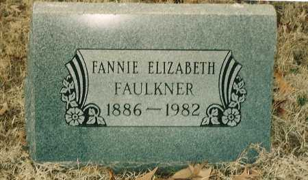 MILLIGAN FAULKNER, FANNIE ELIZABETH - Lawrence County, Arkansas | FANNIE ELIZABETH MILLIGAN FAULKNER - Arkansas Gravestone Photos