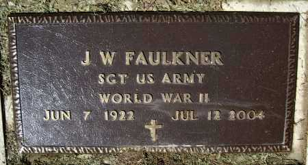 "FAULKNER (VETERAN WWII), JOHN WILLIAM ""J. W."" - Lawrence County, Arkansas 