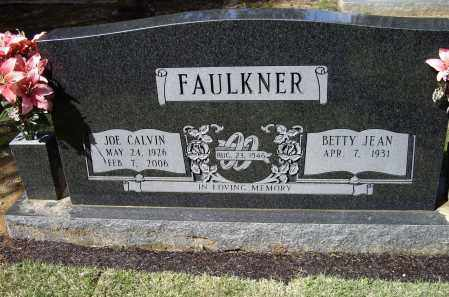 FAULKNER, JOE CALVIN - Lawrence County, Arkansas | JOE CALVIN FAULKNER - Arkansas Gravestone Photos