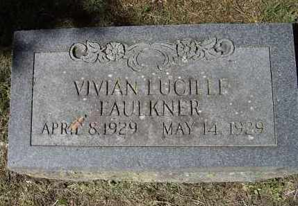 FAULKNER, VIVIAN LUCILLE - Lawrence County, Arkansas | VIVIAN LUCILLE FAULKNER - Arkansas Gravestone Photos