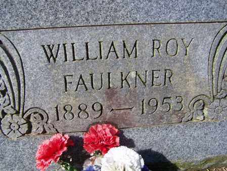 FAULKNER (VETERAN), WILLIAM ROY - Lawrence County, Arkansas | WILLIAM ROY FAULKNER (VETERAN) - Arkansas Gravestone Photos