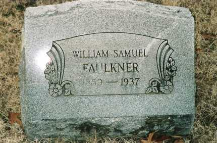 FAULKNER, WILLIAM SAMUEL - Lawrence County, Arkansas | WILLIAM SAMUEL FAULKNER - Arkansas Gravestone Photos