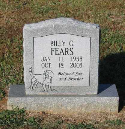 FEARS, BILLY GENE - Lawrence County, Arkansas | BILLY GENE FEARS - Arkansas Gravestone Photos