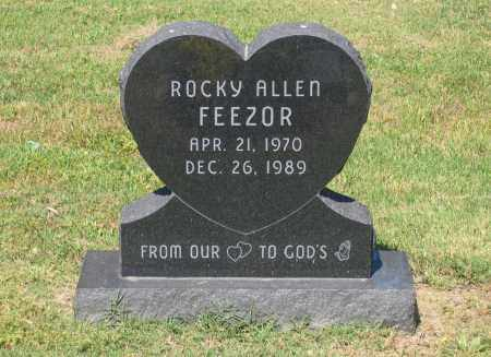 FEEZOR, ROCKY ALLEN - Lawrence County, Arkansas | ROCKY ALLEN FEEZOR - Arkansas Gravestone Photos