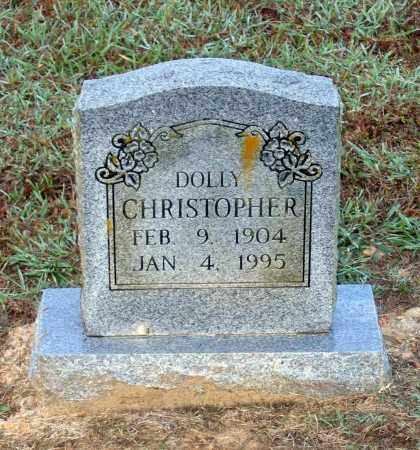 CHRISTOPHER, DOLLY SAFFELL FELKINS JOHNSON - Lawrence County, Arkansas | DOLLY SAFFELL FELKINS JOHNSON CHRISTOPHER - Arkansas Gravestone Photos