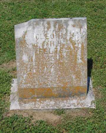 FELTS, CLEO H. - Lawrence County, Arkansas | CLEO H. FELTS - Arkansas Gravestone Photos
