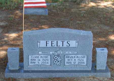 ALLISON FELTS, MAYOLA - Lawrence County, Arkansas | MAYOLA ALLISON FELTS - Arkansas Gravestone Photos