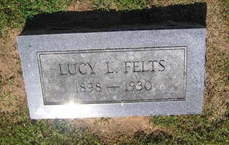 FELTS, LUCY L. - Lawrence County, Arkansas | LUCY L. FELTS - Arkansas Gravestone Photos