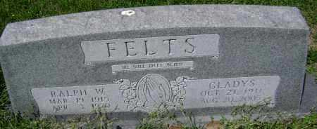 FELTS, RALPH W. - Lawrence County, Arkansas | RALPH W. FELTS - Arkansas Gravestone Photos