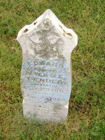FENDER, EDWARD - Lawrence County, Arkansas | EDWARD FENDER - Arkansas Gravestone Photos