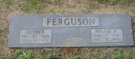 FERGUSON, LUTHER - Lawrence County, Arkansas | LUTHER FERGUSON - Arkansas Gravestone Photos