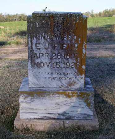 FIELD, NINA - Lawrence County, Arkansas | NINA FIELD - Arkansas Gravestone Photos