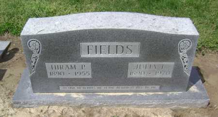 FIELDS, HIRAM P. - Lawrence County, Arkansas | HIRAM P. FIELDS - Arkansas Gravestone Photos