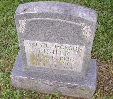JACKSON FISHER, MARY L. - Lawrence County, Arkansas | MARY L. JACKSON FISHER - Arkansas Gravestone Photos
