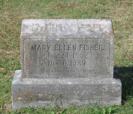 BARNETT FISHER, MARY ELLEN - Lawrence County, Arkansas | MARY ELLEN BARNETT FISHER - Arkansas Gravestone Photos