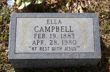 "CAMPBELL, MARY LUELLA NUNNALLY ""ELLA"" - Lawrence County, Arkansas 