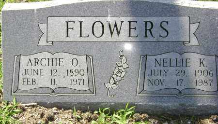 FLOWERS, ARCHIE O - Lawrence County, Arkansas | ARCHIE O FLOWERS - Arkansas Gravestone Photos
