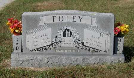 "FOLEY, HIRAM LEE ""HAIRM"" - Lawrence County, Arkansas 