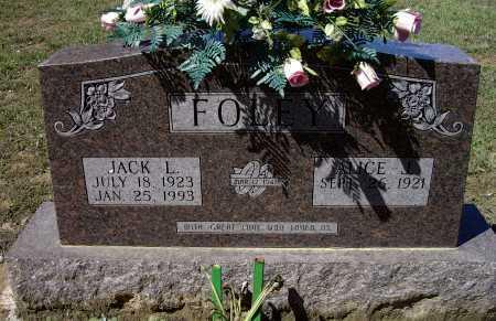 FOLEY, JACK LAVERNE - Lawrence County, Arkansas | JACK LAVERNE FOLEY - Arkansas Gravestone Photos