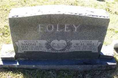 SULLIVAN FOLEY, NAOMI - Lawrence County, Arkansas | NAOMI SULLIVAN FOLEY - Arkansas Gravestone Photos