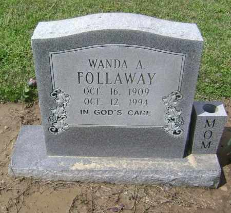 FOLLAWAY, WANDA A. - Lawrence County, Arkansas | WANDA A. FOLLAWAY - Arkansas Gravestone Photos