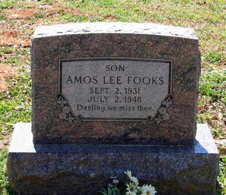 FOOKS, AMOS LEE - Lawrence County, Arkansas | AMOS LEE FOOKS - Arkansas Gravestone Photos