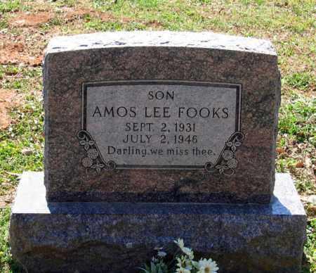 FOOKS, AMOS LEE - Lawrence County, Arkansas | AMOS LEE FOOKS - Arkansas Gravestone Photos