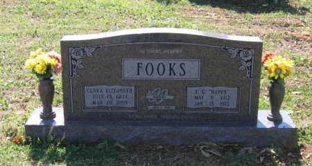 CLEMENTS FOOKS, CLARA ELIZABETH - Lawrence County, Arkansas | CLARA ELIZABETH CLEMENTS FOOKS - Arkansas Gravestone Photos