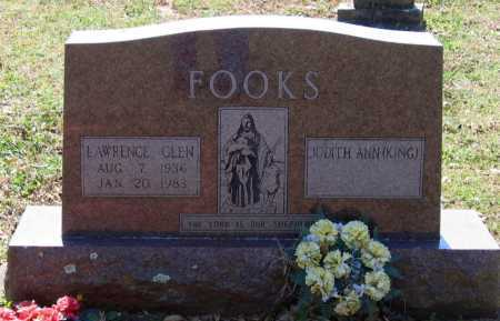 FOOKS, LAWRENCE GLEN - Lawrence County, Arkansas | LAWRENCE GLEN FOOKS - Arkansas Gravestone Photos