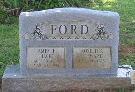 "FORD, JAMES H. ""JACK"" - Lawrence County, Arkansas 