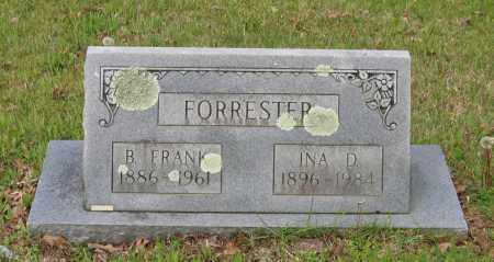 WARD FORRESTER, INA DORA - Lawrence County, Arkansas | INA DORA WARD FORRESTER - Arkansas Gravestone Photos