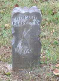 FORRESTER, ODIS D. - Lawrence County, Arkansas | ODIS D. FORRESTER - Arkansas Gravestone Photos