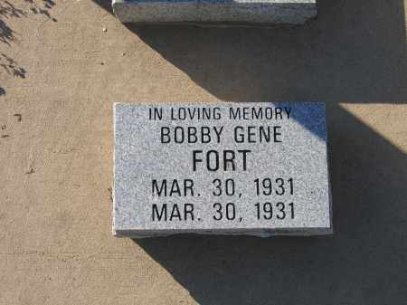 FORT, BOBBY GENE - Lawrence County, Arkansas | BOBBY GENE FORT - Arkansas Gravestone Photos