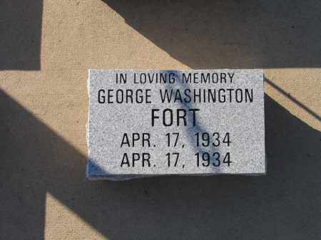 FORT, GEORGE WASHINGTON - Lawrence County, Arkansas | GEORGE WASHINGTON FORT - Arkansas Gravestone Photos