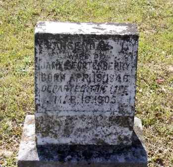 "MASSEY FORTENBERRY, LUCINDA ""LANSENDA"" - Lawrence County, Arkansas 