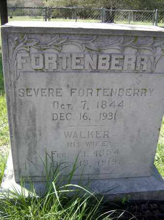 "FORTENBERRY (VETERAN CSA), SEVIER LAVERN ""SEVERE"" - Lawrence County, Arkansas 