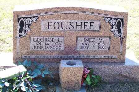 FOUSHEE, INEZ MARIE - Lawrence County, Arkansas | INEZ MARIE FOUSHEE - Arkansas Gravestone Photos