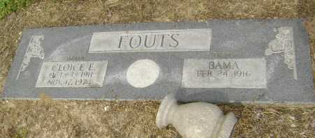 FOUTS, BAMA - Lawrence County, Arkansas | BAMA FOUTS - Arkansas Gravestone Photos