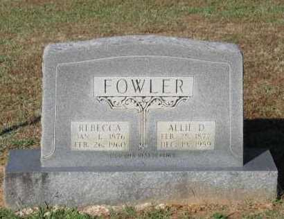 FOWLER, ALLIE DESWANSEN - Lawrence County, Arkansas | ALLIE DESWANSEN FOWLER - Arkansas Gravestone Photos