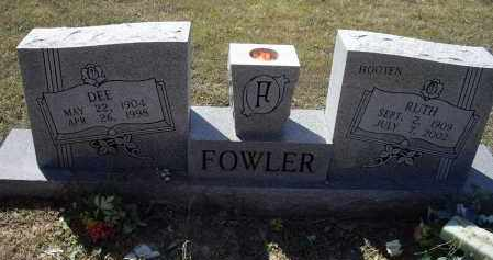 HOOTEN FOWLER, RUTH LEE - Lawrence County, Arkansas | RUTH LEE HOOTEN FOWLER - Arkansas Gravestone Photos