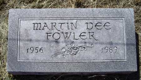 "FOWLER, MARTIN DEE ""MARTY"" - Lawrence County, Arkansas 