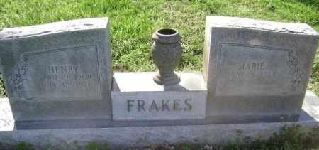 FRAKES, HENRY - Lawrence County, Arkansas | HENRY FRAKES - Arkansas Gravestone Photos